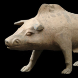 China - Han Dynasty Boar from the Lacy Gallery Art of Asia Collection