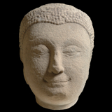 Southeast Asia - Buddha Head from the Lacy Gallery Art of Asia Collection