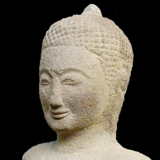 Southeast Asia - Khmer Standing Buddha from the Lacy Gallery Art of Asia Collection