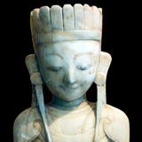 Southeast Asia - Sitting Ava King Buddha from the Lacy Gallery Art of Asia Collection
